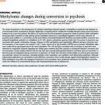 Methylomic changes during conversion to psychosis